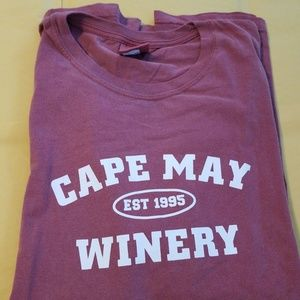 Cape May NJ Winery - T-Shirt - Mens XL